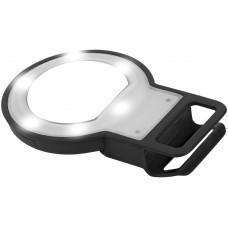 """Вспышка """"LED"""" с зеркалом, черный"""