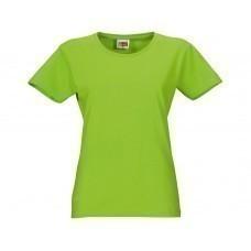 """Футболка """"Heavy Super Club"""" женская, зеленое яблоко"""