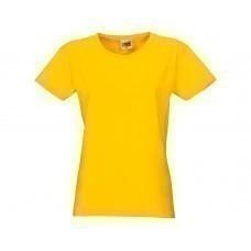 """Футболка """"Heavy Super Club"""" женская, желтый"""