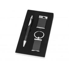 Набор: шариковая ручка, брелок, зажигалка