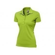 """Рубашка поло """"First C"""" женская, зеленое яблоко"""