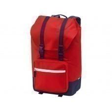"""Рюкзак Oakland для ноутбука 15,6"""" с откидным верхом, синий/красный"""