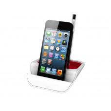 """Подставка настольная """"Standi"""" для ручек и мобильных устройств, красный"""