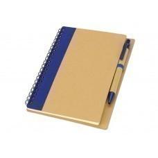 """Блокнот А6 """"Priestly"""" с ручкой, синий"""