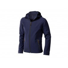 """Куртка софтшел """"Langley"""" мужская, темно-синий"""