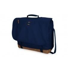 """Сумка через плечо """"Chester"""" для ноутбука 17"""", темно-синий"""
