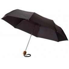 """Зонт складной """"Oliviero"""", механический 21,5"""", черный"""