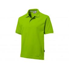 "Рубашка поло ""Forehand"" мужская, зеленое яблоко"