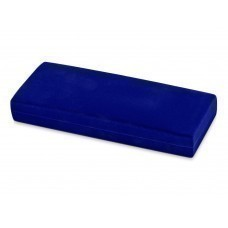 """Бархатный футляр для ручки """"Элегия"""", синий"""