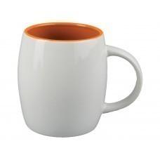 "Кружка ""Pause"", белый/оранжевый"