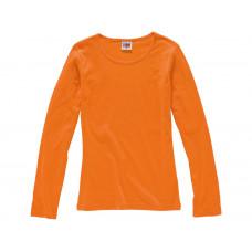"""Футболка """"Hawaii"""" женская с длинным рукавом, оранжевый"""
