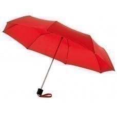 """Зонт складной """"Bernard"""", механический 21,5"""", красный"""