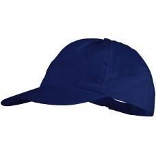 """Бейсболка """"Basic"""" нетканая, 5-ти панельная, классический синий"""