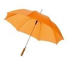 """Зонт-трость """"Lisa"""" полуавтомат 23"""", оранжевый"""