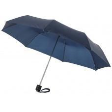 """Зонт складной """"Bernard"""", механический 21,5"""", темно-синий"""