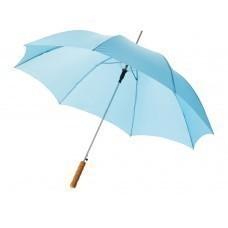 """Зонт-трость """"Lisa"""" полуавтомат 23"""", голубой"""