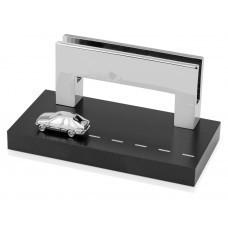 """Подставка для визиток """"Автодрайв"""", серебристый/черный"""