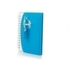 """Блокнот А7 """"Tribune"""" с ручкой, синий"""