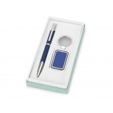 Набор «Эстель»: ручка, брелок, синий