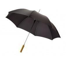 """Зонт-трость """"Lisa"""" полуавтомат 23"""", черный"""