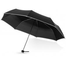"""Зонт складной """"Линц"""", механический 21"""", черный"""