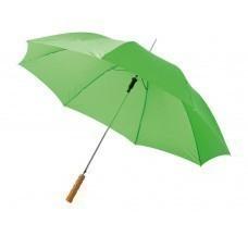 """Зонт-трость """"Lisa"""" полуавтомат 23"""", ярко-зеленый"""