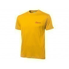 "Футболка ""Heavy Super Club C"" мужская, золотисто-желтый"