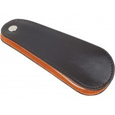 Рожок для обуви «Харви», темно-коричневый/оранжевый/серебристый