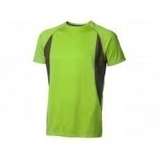 """Футболка """"Quebec Cool Fit"""" мужская, зеленое яблоко"""