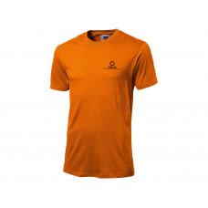 "Футболка ""Super club C"" мужская, оранжевый"
