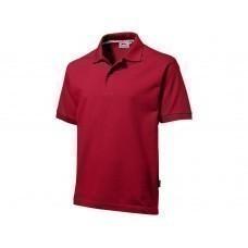 "Рубашка поло ""Forehand"" мужская, темно-красный"
