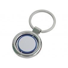 Брелок, синий/серебристый