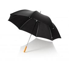 """Зонт трость для гольфа, механический 30"""", черный"""