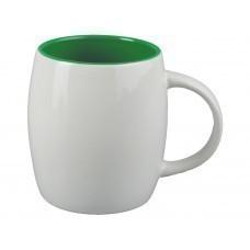 "Кружка ""Pause"", белый/зеленый"
