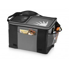 Сумка-холодильник на 50 банок с подносом, черный