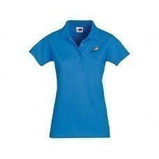 """Рубашка поло """"First C"""" женская, небесно-голубой"""