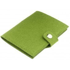 Обложка для паспорта Felt, зеленая