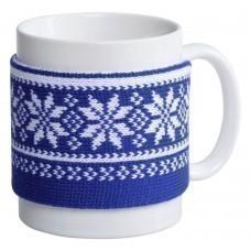 Манжета на кружку «Скандик», синяя (василек)