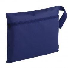 Конференц-сумка Unit Saver, темно-синяя