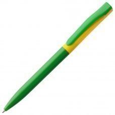 Ручка шариковая Pin Special, зелено-желтая