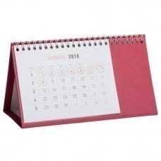 Календарь настольный Brand, малиновый
