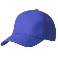 Бейсболка Bizbolka Match, ярко-синяя