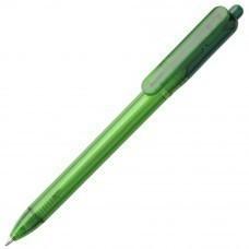 Ручка шариковая Bolide Transparent, зеленая