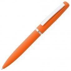 Ручка шариковая Bolt Soft Touch, оранжевая