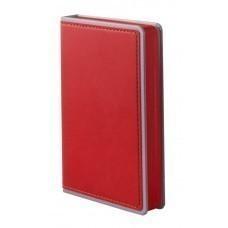 Ежедневник Freenote Small, недатированный, красный