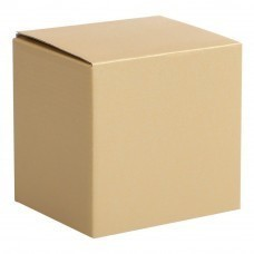 Коробка для кружки, золотистая