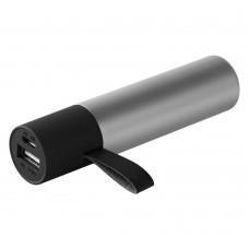 Внешний аккумулятор stickBank 2600 mAh, серебристый