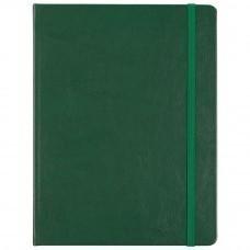 Блокнот Freenote, в клетку, зеленый