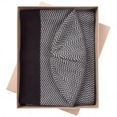 Набор Steps: шарф и шапка, черно-серый