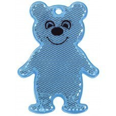 Пешеходный светоотражатель Bear, синий